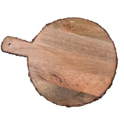 Jodhpuri Round Mango Wood Paddle Serving Cheese Board
