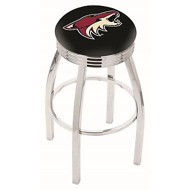 Holland Bar Stool NHL 25'' Swivel Bar Stool; Arizona Coyotes