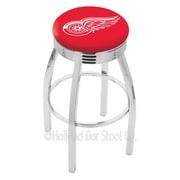 Holland Bar Stool NHL 30'' Swivel Bar Stool; Detroit Red Wings
