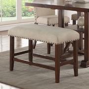 Infini Furnishings Amelie II Upholstered Dining Bench