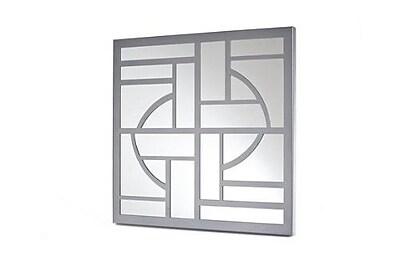 Mariano Metal Decor Deco Wall Mirror