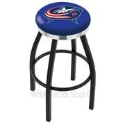 Holland Bar Stool NHL 25'' Swivel Bar Stool; Columbus Blue Jackets