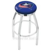 Holland Bar Stool NHL 30'' Swivel Bar Stool; Columbus Blue Jackets
