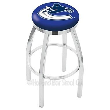 Holland Bar Stool NHL 30'' Swivel Bar Stool; Vancouver Canucks