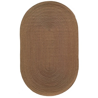Rugs America Colony Red Area Rug; Oval 2' x 3'
