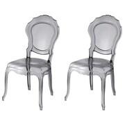 UrbanMod Barokai Side Chair; Gray