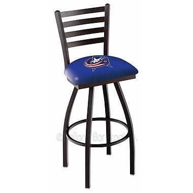 Holland Bar Stool NHL 36'' Swivel Bar Stool; Columbus Blue Jackets