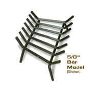 Master Flame Welded Steel Fire Pit Grate; 9'' H x 28'' W x 17'' D