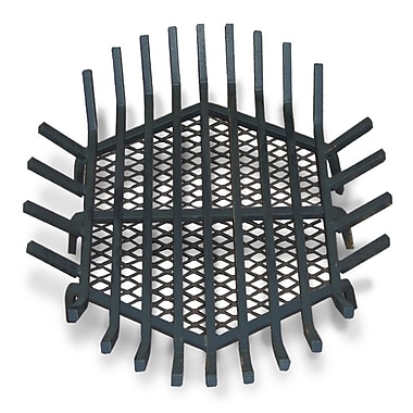 Master Flame Round Fire Pit Grate; 8'' H x 30'' W x 30'' D