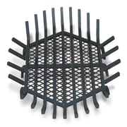 Master Flame Round Fire Pit Grate; 8'' H x 38'' W x 38'' D