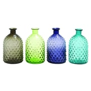 Cole & Grey Glass 4 Piece Table Vase Set (Set of 4)
