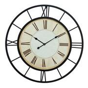 Cole & Grey Oversized Metal 37'' Wall Clock