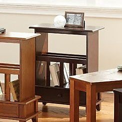 Brady Furniture Industries Mongo End Table; Cherry