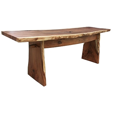 ChicTeak Suar Wood Gathering Bar; 43'' H x 59'' W x 28'' D