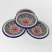 Le Souk Ceramique Tabarka Round Stoneware Sauce Dish (Set of 4)