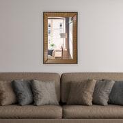 Artistic Products Breeze Point Wall Mirror; 28'' H x 24'' W x 1'' D