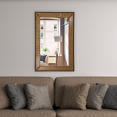 Artistic Products Breeze Point Wall Mirror; 36''