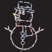 PennDistributing Lighted Snowman Window Decoration
