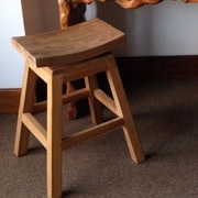 ChicTeak 24'' Swivel Bar Stool
