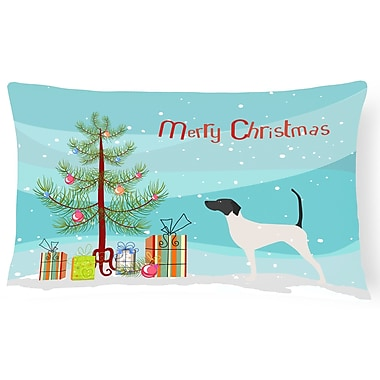 The Holiday Aisle English Pointer Indoor/Outdoor Lumbar Pillow