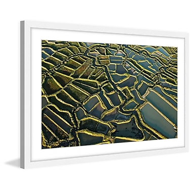 Marmont Hill 'Waterways' Framed Painting Print; 40'' H x 60'' W x 1.5'' D