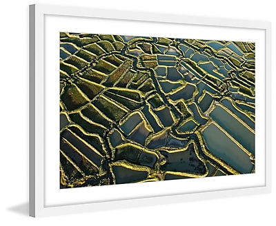 Marmont Hill 'Waterways' Framed Painting Print; 30'' H x 45'' W x 1.5'' D