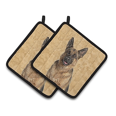 Caroline's Treasures Jack Russell Terrier Potholder (Set of 2)