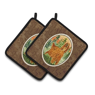 Caroline's Treasures Irish Setter Potholder (Set of 2)