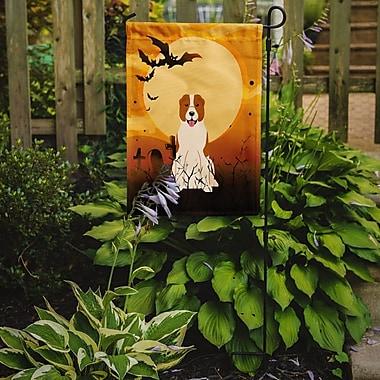 Caroline's Treasures Halloween Central Asian Shepherd Dog 2-Sided Garden Flag