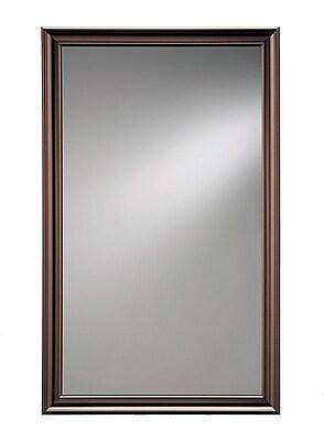 Jensen Ashton Wall Mirror; Oil Rubbed Bronze