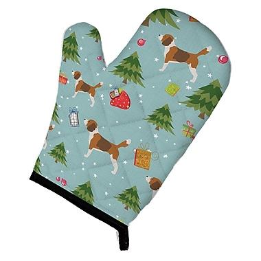 Caroline's Treasures Christmas Beagle Oven Mitt