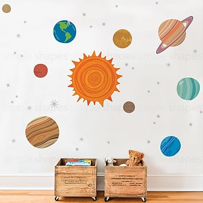 SimpleShapes Planets Wall Sticker