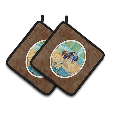 Caroline's Treasures Great Dane Potholder (Set of 2)