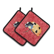 Caroline's Treasures Lady Bug Potholder (Set of 2)