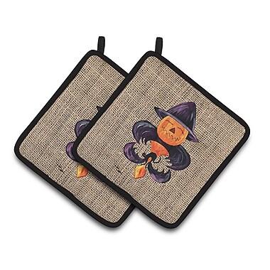 Caroline's Treasures Halloween Potholder (Set of 2)