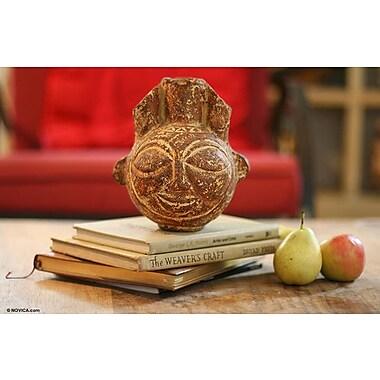 Novica Earthenware Ceramic Table Vase