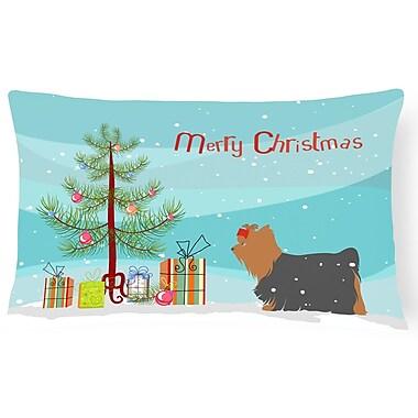 Caroline's Treasures Yorkshire Terrier Indoor/Outdoor Lumbar Pillow
