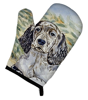 Caroline's Treasures English Setter Patience Oven Mitt