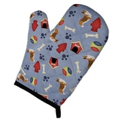 East Urban Home Corgi Dog House Oven Mitt