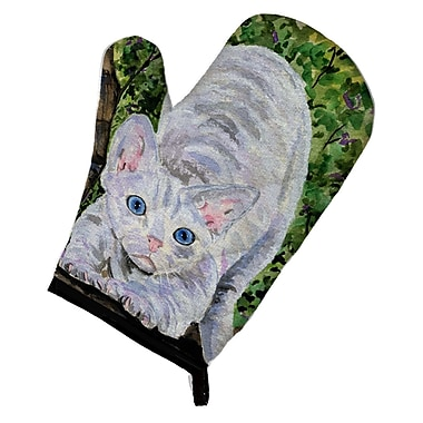 Caroline's Treasures Cat Devon Rex Oven Mitt