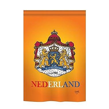 TwoGroupFlagCo Netherlands 2-Sided Vertical Flag