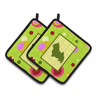 Caroline's Treasures Norwich Terrier Potholder (Set of 2)