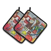 Caroline's Treasures New Orleans Potholder (Set of 2)