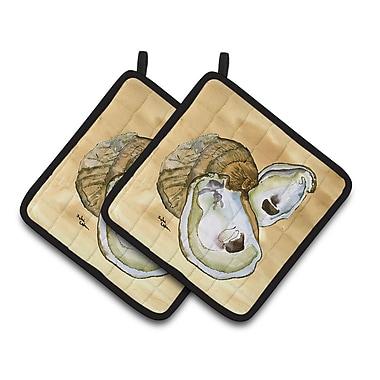 Caroline's Treasures Oyster Potholder (Set of 2)