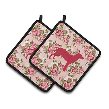 Caroline's Treasures Labrador Potholder (Set of 2)