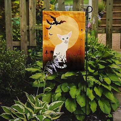 Caroline's Treasures Halloween Foreign Cat 2-Sided Garden Flag