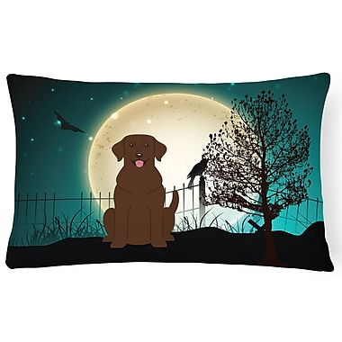 Caroline's Treasures Halloween Indoor/Outdoor Lumbar Pillow