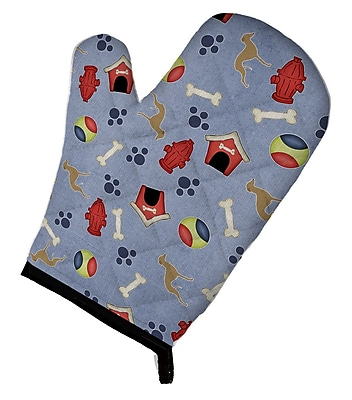 Caroline's Treasures Italian Greyhound Dog House Oven Mitt