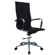 Lone Star Chairs High-Back Desk Chair; Black