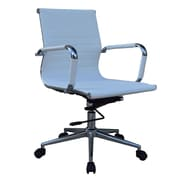 Lone Star Chairs Mid-Back Desk Chair; White